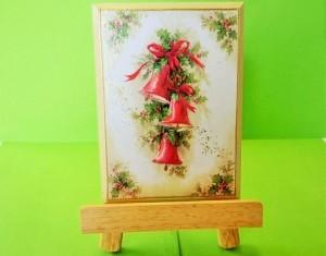 P,5 クリスマス飾り(イーゼル付)